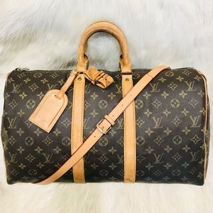 Authentic Louis Vuitton Keepall 45  #2.6zja